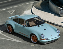 Porsche 911 reimagined by Singer (CGI)