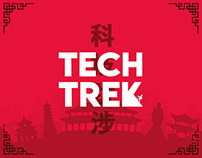 Tech-Trek 2018   Online Quizing Event   Branding