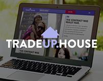 TradeUp.House landing page