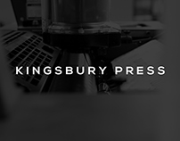 Kingsbury Press Rebrand