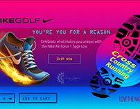 nike shoe ui/ux design