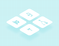 Custom icons for educational project