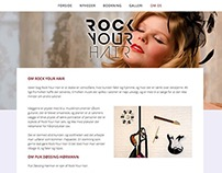 WEB + LOGO: Rock Your Hair