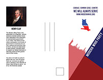 Modern Whig Party Brochure & Poster