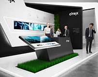 * CITRIX * exhibition stand *