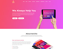 We Always Help You -UI Design