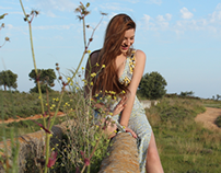 "Model ""Cristina Rodríguez"" Shooting at countryside"