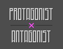 Protagonist X Antagonist