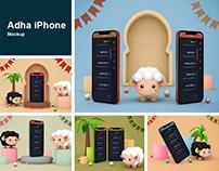 Adha iPhone Mockup