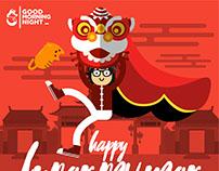Happy Year of Monkey