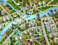 Tver 3D MAP