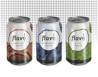 Flavo! Soda Can Labels