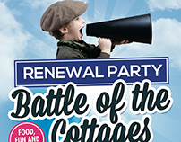 Battle of the Cottages Flyer