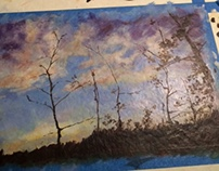 Pine County Sunrise - done / project notes