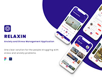 Relaxin - Anxiety and Stress Management Application