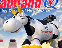 Creamland Dairy - 2010 International Balloon Fiesta Ad