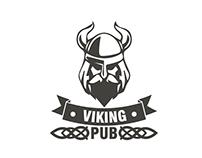 Logo Design for Viking PUB