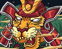 Tiger - Wild Samurai