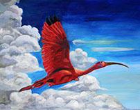 The Free Scarlet Ibis