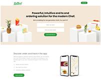 Chef Hero - Landing Page