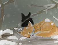 baby fox in the woods part 3 finished