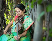 Portrait shoots of a classical Violinist