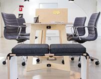 The Karya Coworking Desk by PlayWood