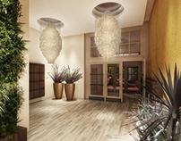Entrance Hall - Office Building - render