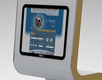 Saudi Airlines Kiosk Machine