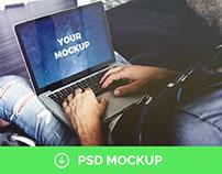 Macbook Pro Mockup | Free PSD