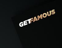 GetFamous Logo Design