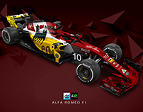 Alfa Romeo F1 (Late Braking) Concept Livery