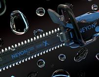 Plasma Chainsaw - Neyon Plasma X-101