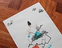 """Freëk Fest - Poster & Pressbook """"Grimes"""""""