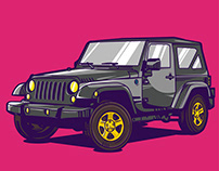 The Jeep I'm going to the beach with.