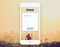 Amway - MyBiz App Design