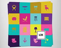 Lok Móveis e Objetos - Panfleto Institucional
