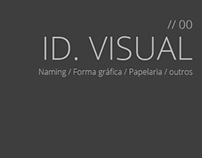 Identidade visual - Naming, forma gráfica, etc (outros)