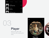 Music Player, Framer X