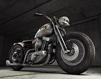 Zombie Motorcycle II