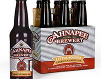 Ahnapee Brewery Beer Packaging