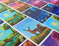 Nature & Twilight Animated Playing Cards