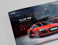 Audi R8 & RS6 Brochure Design