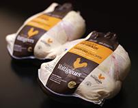 Ferme des Voltigeurs - Emballage poulet entier de grain