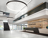 ABB Bulilding Space Office - Full CGI by sooii