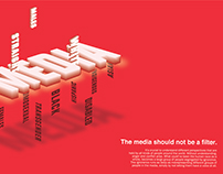 Bias in the Media: A Typographical Approach