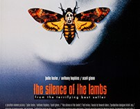 "Copy Of The Poster ""Silence Of The Lambs"""