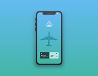 Baku Airport App Design Concept