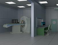 3D Medical Room
