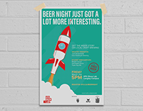 Beer Night Poster Concept